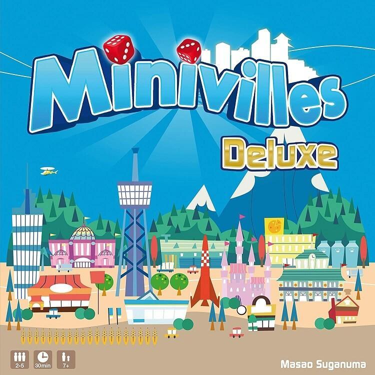 Jeux de societe minivilles deluxe