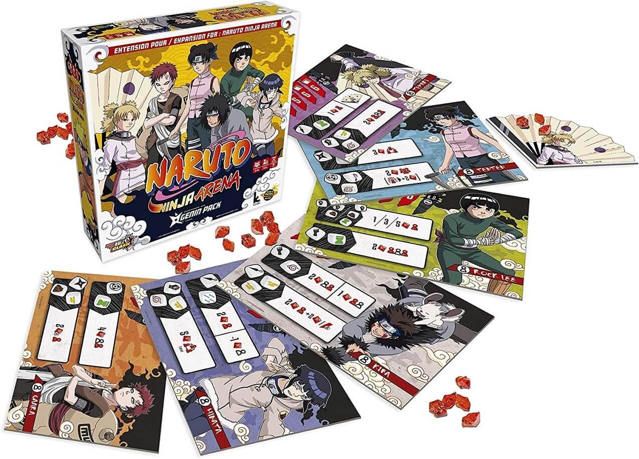 Jeux de societe naruto manga extension arena genin
