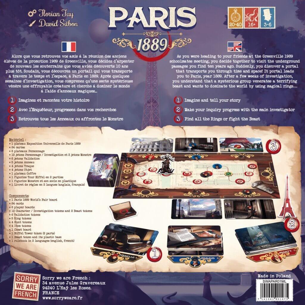 Jeux de societe paris 1889