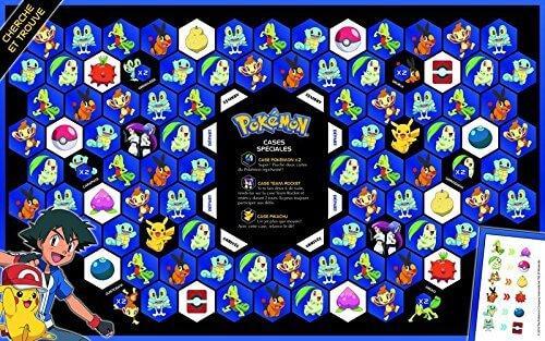 Jeux de societe pokemon cherche trouve