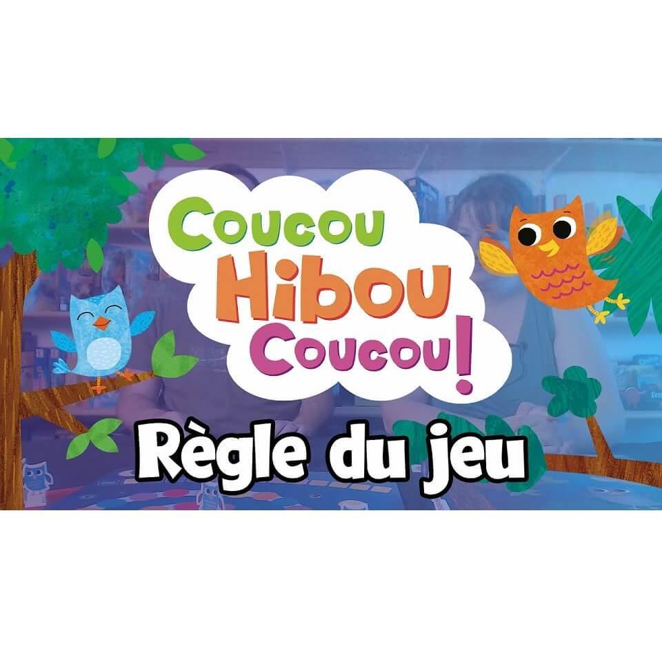 Jeux de societe pour enfant coucou hibou coucou