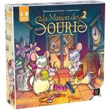 Jeu de société pour enfants: La maison des souris (x1) REF/GKMA