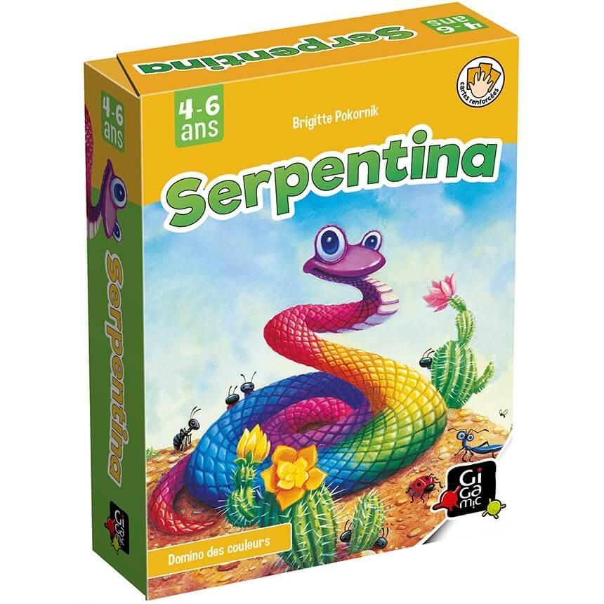 Jeux de societe pour enfants serpentina