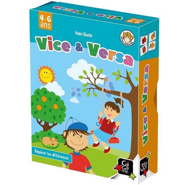 Jeux de societe pour enfants vice et versa