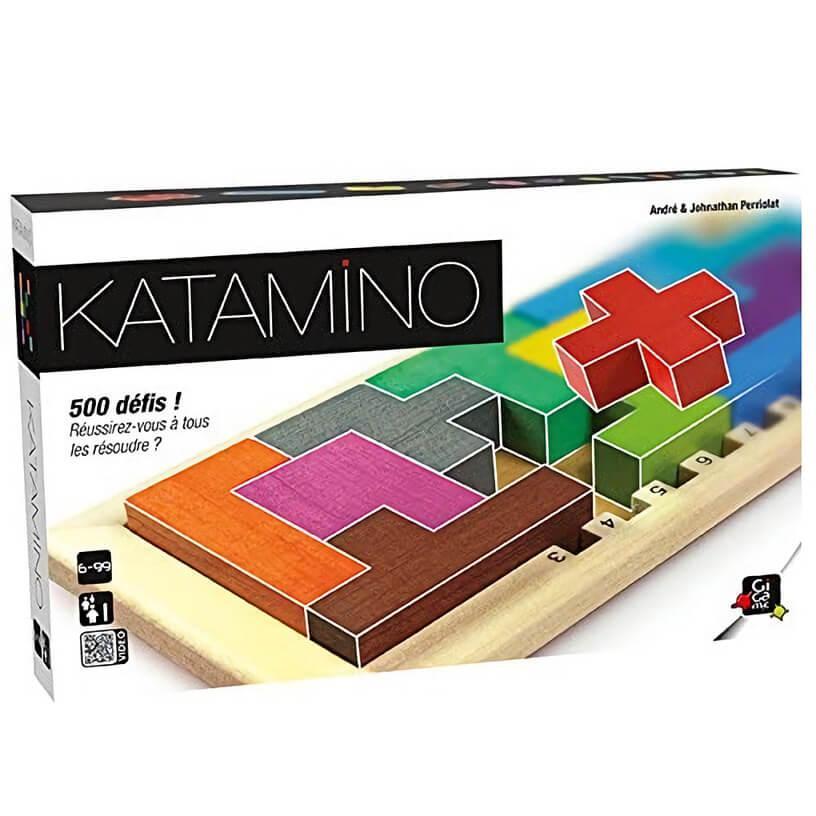 Jeux en bois et de reflexion katamino