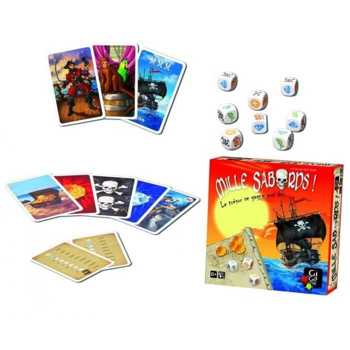 Jeux gigamic mille sabords