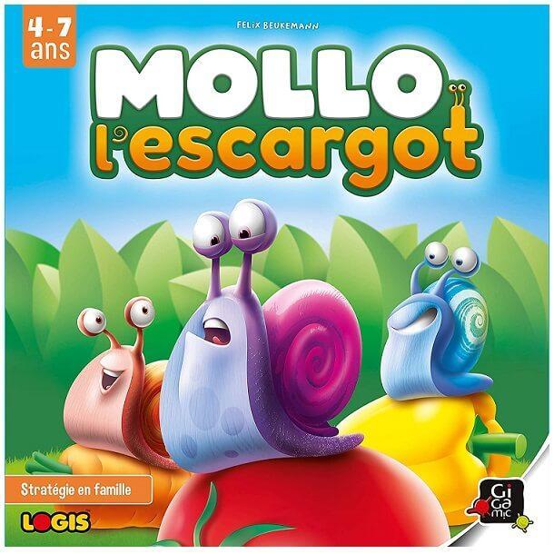 Jeux pedagogique enfant mollo l escargot