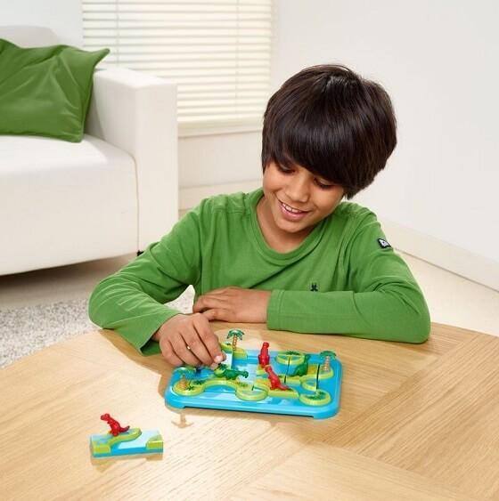 Jeux pour enfants archipel des dinosaures