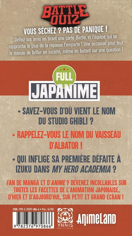 Jeux quiz full japanime manga culture japon