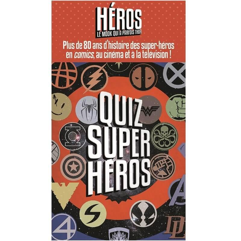 Jeux quizz super heros disney marvel dc universe