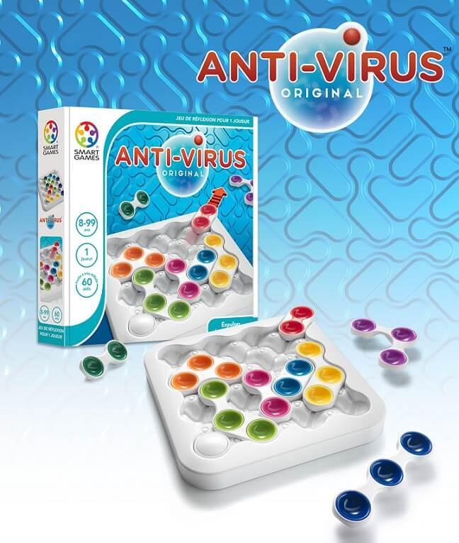 Jouet de reflexion pour enfants anti virus