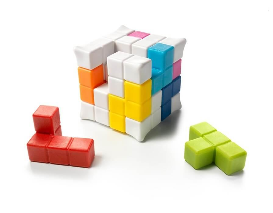 Jouet puzzle plug and play mini cube smartgames