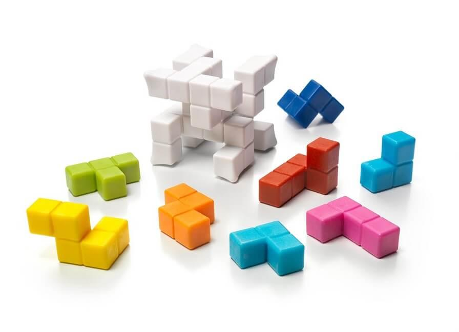Jouets puzzle plug and play mini cube smartgames