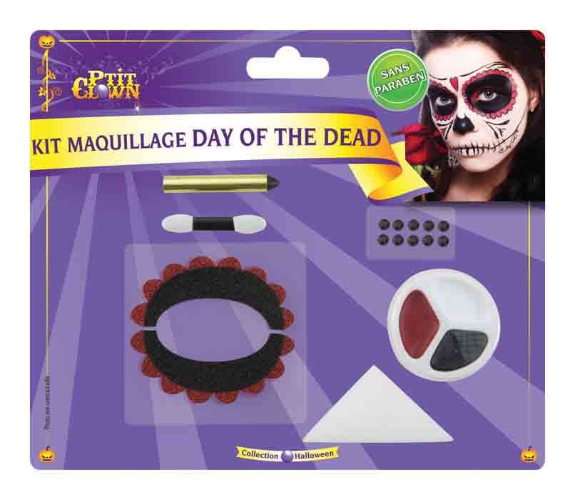 Kit maquillage day of the dead