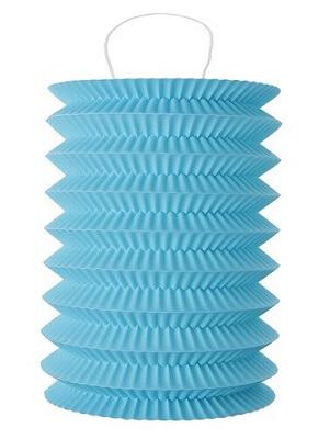 Lampion bleu turquoise
