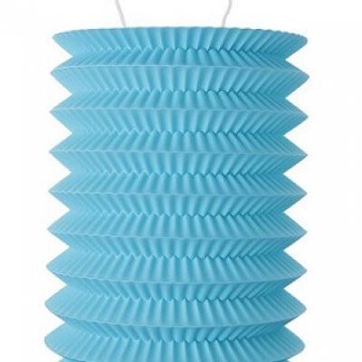 Lampion bleu turquoise (x2) REF/4996