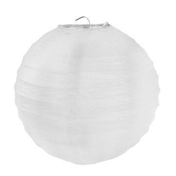 Lanterne blanche 20cm (x2) REF/4312