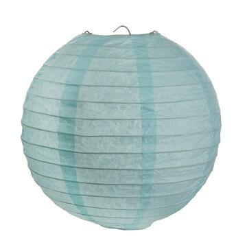 Lanterne bleu ciel 30cm (x2) REF/4313