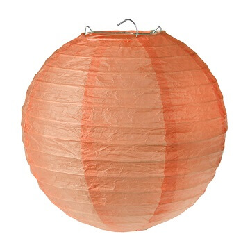 Lanterne corail 20cm