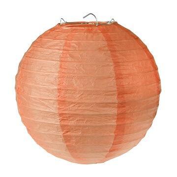 Lanterne corail 30cm (x2) REF/4313