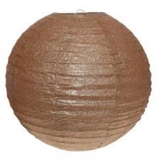 Lanterne pailletée cuivre L, 30cm (x1) REF/4383
