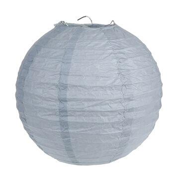 Lanterne grise 20cm