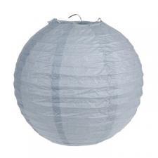 Lanterne grise 20cm (x2) REF/4312