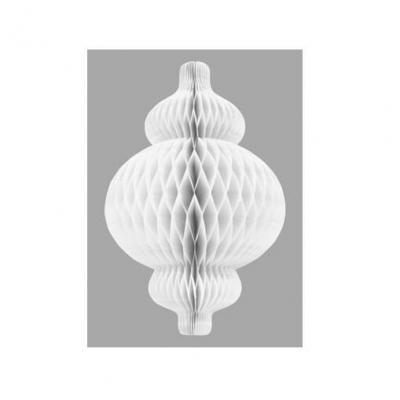 Lanterne nid d'abeille blanche (x1) REF/GUI064