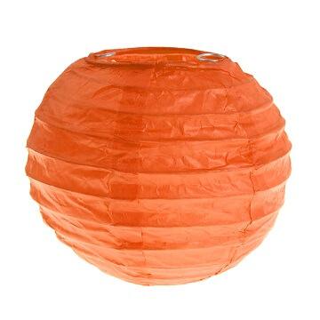 Lanterne orange s 10cm
