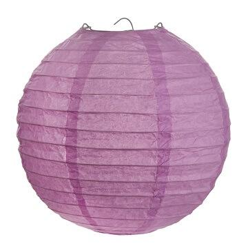 Lanterne parme 50cm (x1) REF/4314
