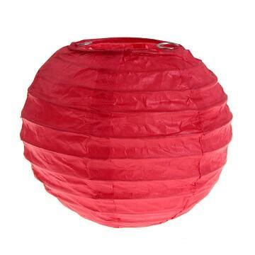 Lanterne rouge S, 10cm (x2) REF/4311