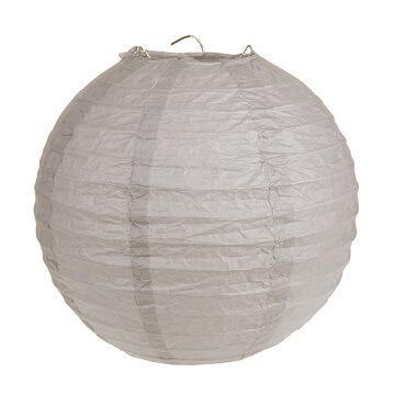 Lanterne taupe 20cm (x2) REF/4312