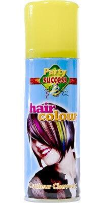 Laque cheveux jaune