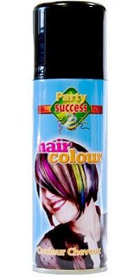 Aérosol laque cheveux noir, 125ml (x1) REF/72043