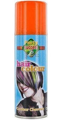 Aérosol laque cheveux orange, 125ml (x1) REF/72006