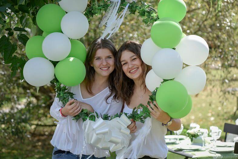 Lierre vert pour decoration de fete