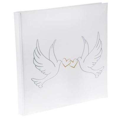 Livre d'or colombes blanc (x1) REF/4490