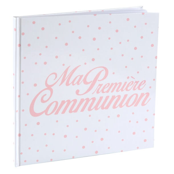 Livre d or communion corail