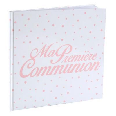 Livre d'or communion corail (x1) REF/6299