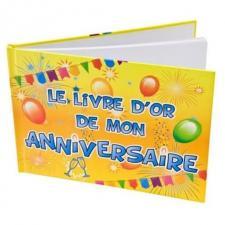 Livre d'or anniversaire (x1) REF/AA1015PP