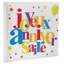 Livre d'or: Joyeux anniversaire festif (x1) REF/4807
