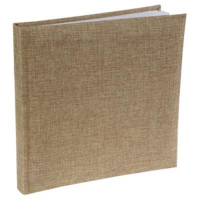 Livre d'or jute naturel marron (x1) REF/4978
