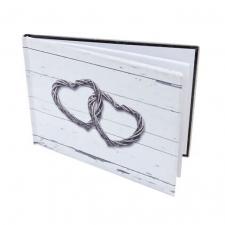 Livre d'or mariage: Coeur (x1) REF/ACM604