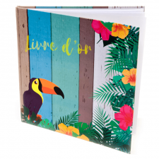 Livre d'or Tropique (x1) REF/ACM609
