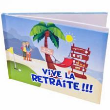 Livre d'or vive la retraite (x1) REF/ART102