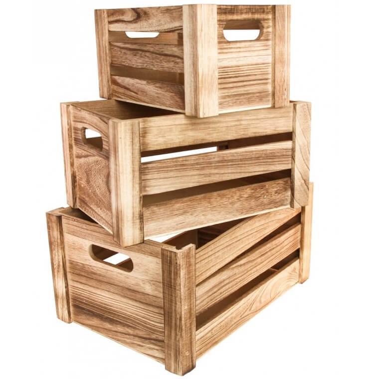 Location cagette elegante en bois