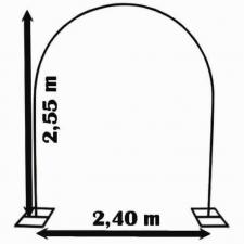Location d'une arche à ballons métallique professionnel. REF/EV-307