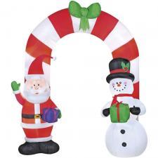Location décoration de Noël avec un arbre gonflable lumineux (x1) REF/EV-423