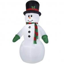 Location Noël avec un bonhomme de neige gonflable lumineux (x1) REF/EV-424