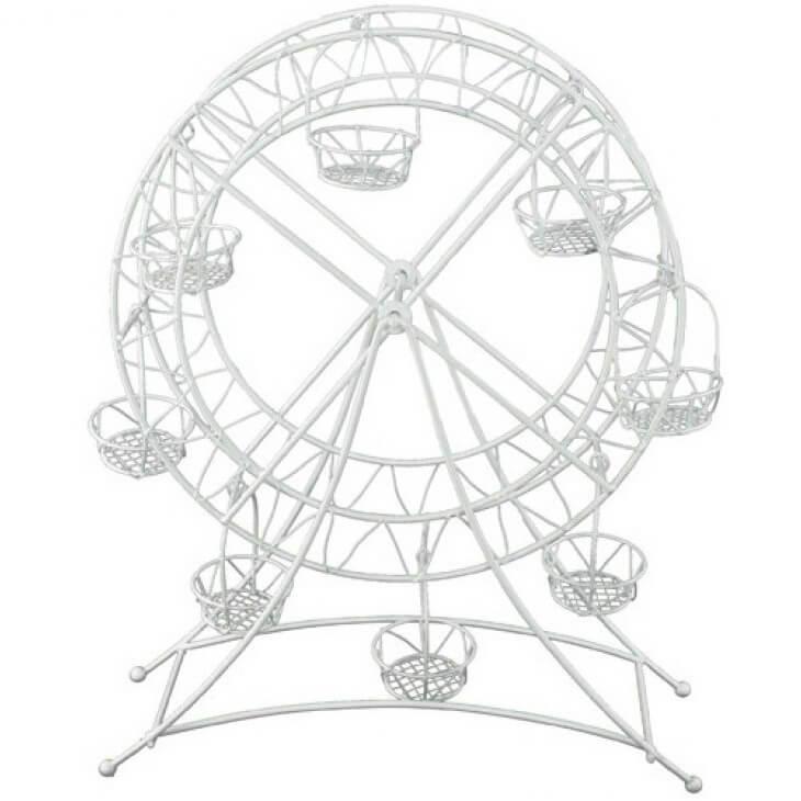 Location nord pas de calais presentoir dragee grande roue blanche